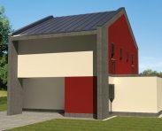 Stanovanjska hiša Žalec - predlog